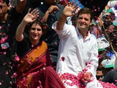 """Didn't Send Priyanka To UP For 2 Months"": Rahul Gandhi's Message To BJP"