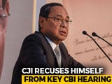 Video : Chief Justice, On Panel To Pick New CBI Chief, Withdraws From Key Hearing