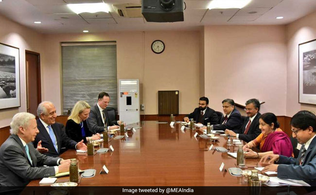 "Centre Says India Supports ""Inclusive"" Peace Process In Afghanistan"