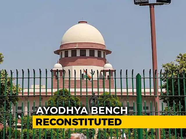 Video : New Ayodhya Bench Formed By Chief Justice, Hearing On Tuesday