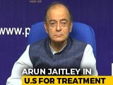 "Video : ""100% With You,"" Rahul Gandhi Tweets On Arun Jaitley, In USA For Treatment"