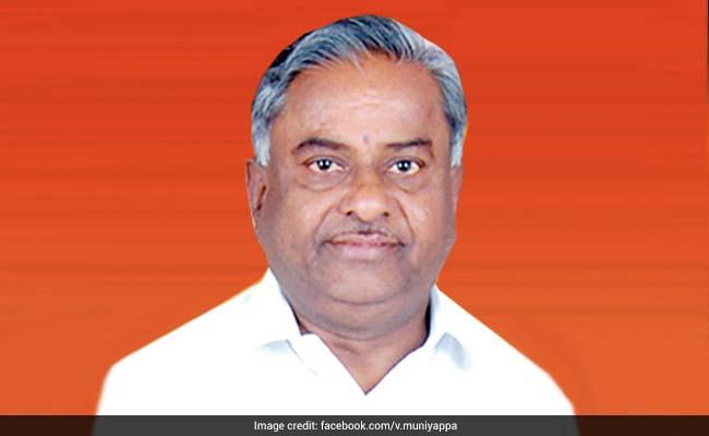 Congress' V Muniyappa Appointed As Political Secretary To HD Kumaraswamy