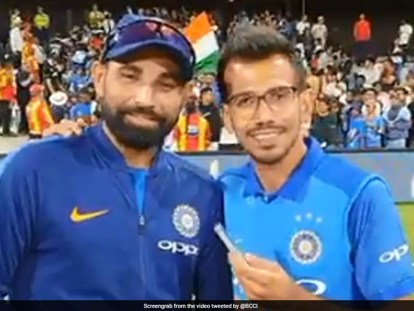 Did Yuzvendra Chahal Just Reveal Mohammed Shami