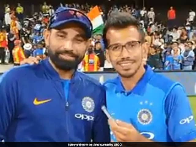 Did Yuzvendra Chahal Just Reveal Mohammed Shamis Team India Nickname?