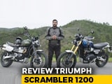Video : Triumph Scrambler 1200 First Ride Review
