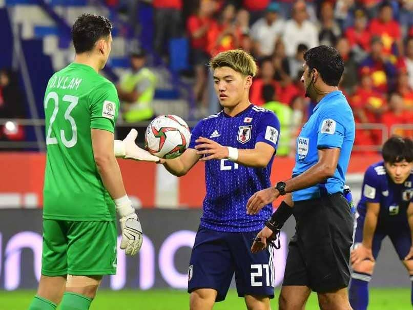 Japans Historic VAR Penalty Sinks Vietnam At Asian Cup