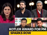 Video: Kotler Award For PM Sparks Row