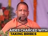Video : After Sting Op, Secretaries Of 3 UP Ministers Arrested For Seeking Bribes