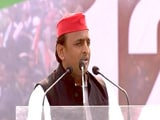 "Video : ""Centre Allying With CBI, Enforcement Directorate"": Akhilesh Yadav"