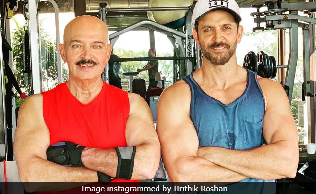 Hrithik Roshan reveals father Rakesh Roshan diagnosed with early stage cancer
