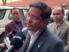 18 Senior BJP Leaders Join Conrad Sangma's Party In Arunachal Pradesh