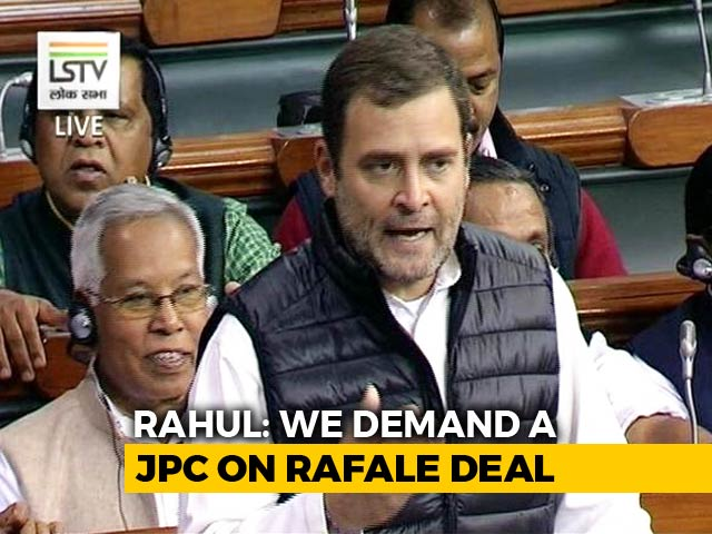 Video : Whole Country Pointing Fingers At You, PM Modi: Rahul Gandhi In Rafale Debate
