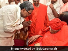 Karnataka Congress Disappointed By No Bharat Ratna For Seer