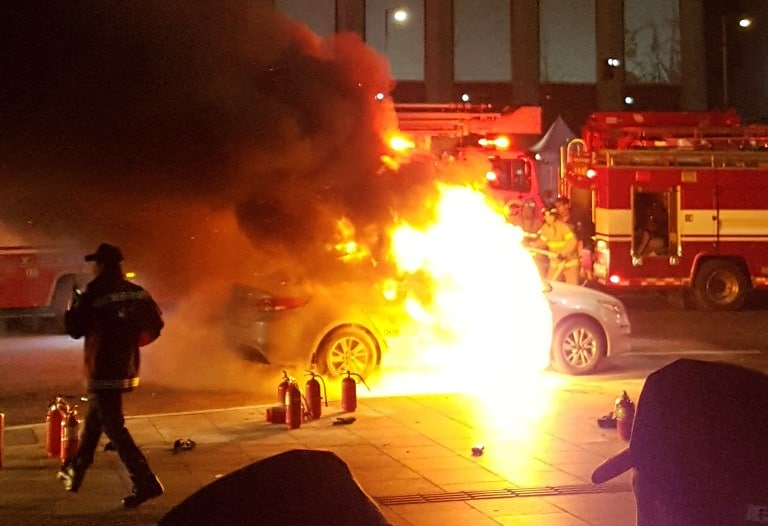 Second South Korea Taxi Driver Burns Self To Protest New Ride-Sharing App