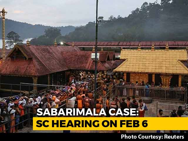 Video : Sabarimala Order Review Petitions To Be Heard From February 6: Top Court
