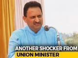 "Video : Union Minister, After ""Hindu Girl"" Comment, Targets Rival's Muslim Wife"