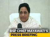 "Video : ""Will Make Him Join BSP Movement"": Mayawati's ""Comeback"" On Nephew"