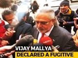 "Video : Vijay Mallya First Tycoon To Be Named ""Fugitive Economic Offender"""