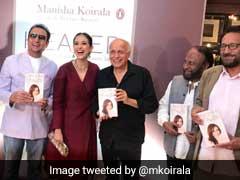 Manisha Koirala Launches Autobiography, Rekha, Mahesh Bhatt, Anupam Kher Attend Event