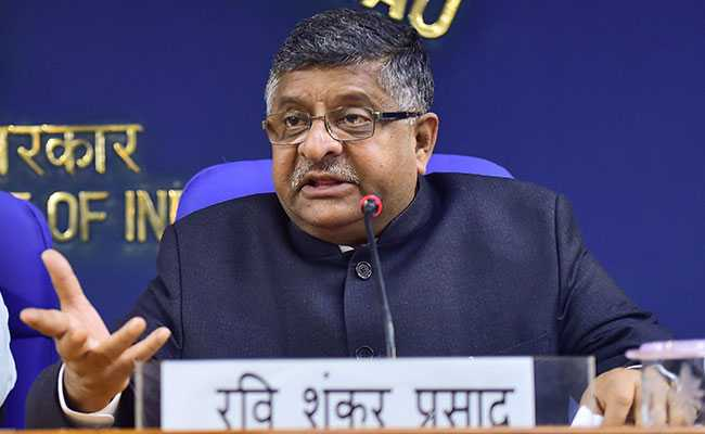 Ravi Shankar Prasad Backs Election Commission After EVM Hacking Claims