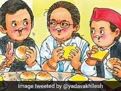 """Akhilesh Yadav Shares Amul's <i>""""Maskagathbandhan""""</i> Post"""