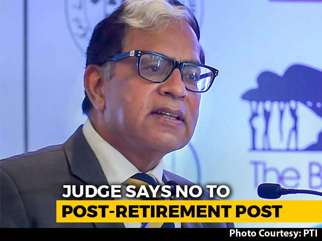 Video : Supreme Court Judge Turns Down Post-Retirement Offer Amid Alok Verma Row