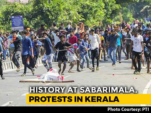 Video : Kerala A War Zone After 2 Women Enter Sabarimala, 750 Arrested