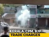 Video : Crude Bombs Thrown At Left Leader, BJP Parliamentarian Homes In Kerala