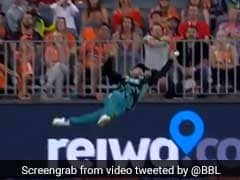 "Big Bash League: Best Dropped ""Catch Of The Century"", Featuring Brendon McCullum - Watch"