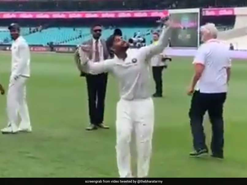 Watch: Rishabh Pant Dances To Bharat Army