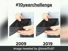 लोग ऐसे उड़ा रहे हैं #10YearChallenge का मजाक, वायरल हुए ये मजेदार Tweets