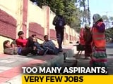 Video : Thousands Travel To Andhra For Less Than 100 Territorial Army Jobs