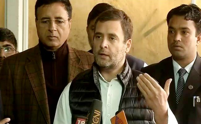 राहुल गांधी को यूपी के मंत्री ने दिया इलाहाबाद आने का न्योता, कहा- गंगा में नहाकर धोएं राफेल पर झूठ बोलने का पाप