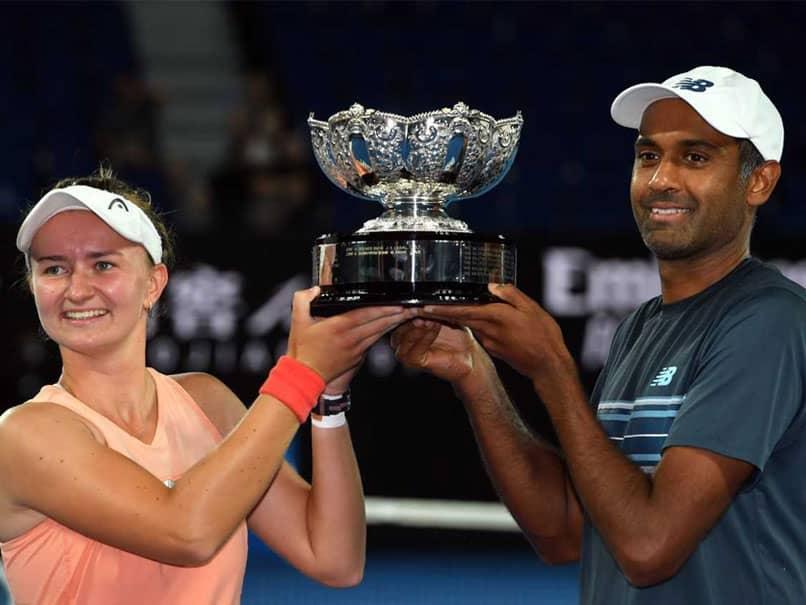 Barbora Krejcikova-Rajeev Ram Win Australian Open Mixed Doubles Title