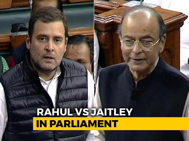 "Video : ""If Not Anil Ambani, Can I Say AA, Ma'am?"" Rahul Gandhi During Debate"