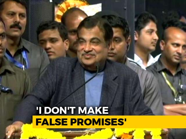 """Video : For Leaders Who """"Spin Dreams"""", Nitin Gadkari's Wake-Up Call"""
