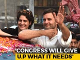 "Video : ""Didn't Send Priyanka To UP For 2 Months"": Rahul Gandhi's Message To BJP"