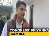 Video : On Priyanka Gandhi Vadra Joining Active Politics, Sachin Pilot Reacts
