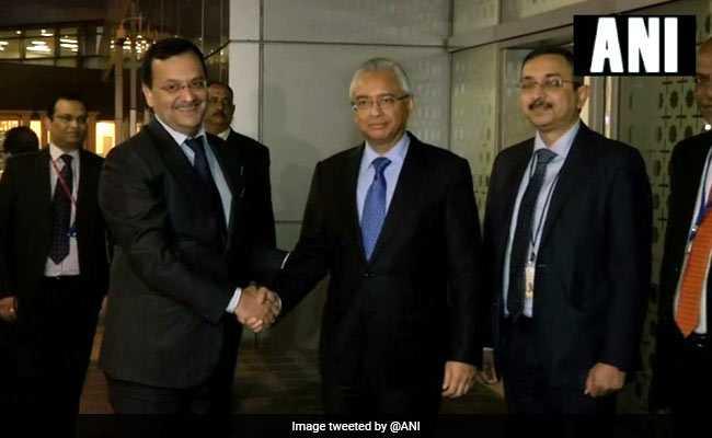 Mauritius PM Pravind Jugnauth In India, To Be Part Of NRI Event