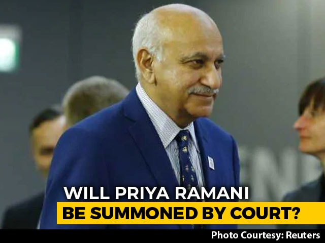 Video : Delhi Court To Take Call On MJ Akbar's Defamation Case On January 29
