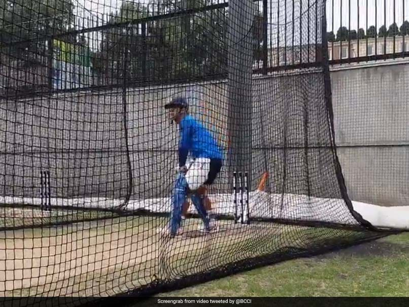 India vs Australia: MS Dhoni Warms Up For Series Decider Against Australia