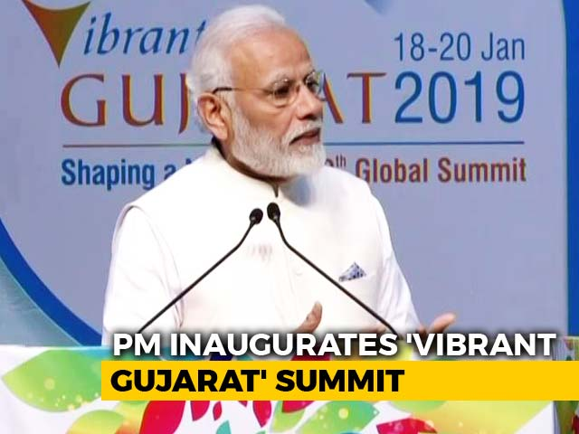 "Video : ""India Ready For Business As Never Before"": PM At Vibrant Gujarat Summit"