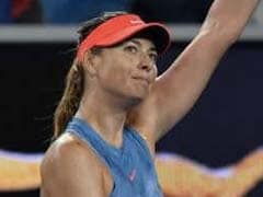 Dominant Maria Sharapova Win Sets Up Caroline Wozniacki Clash