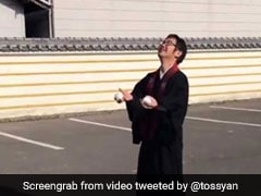Why Japanese Monks Are Sharing Videos Of Things They Can Do In Traditional Robes