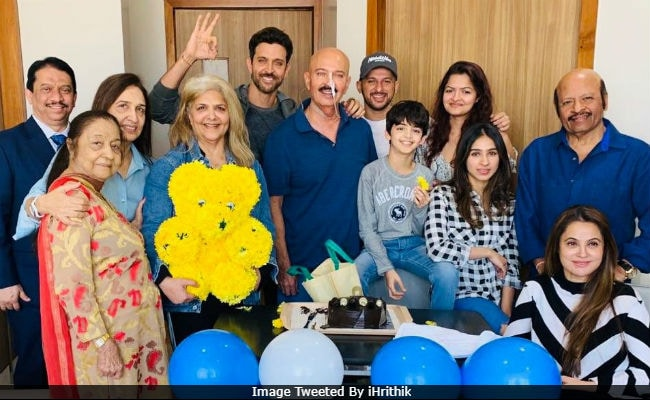 Rakesh Roshan Is 'Up And About' After Throat Cancer Surgery. Son Hrithik Celebrates Birthday With Him And Family