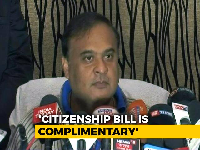 "Video : ""Assam Citizens' List Will Drive Out Jinnahs,"" Claims BJP's Himanta Sarma"