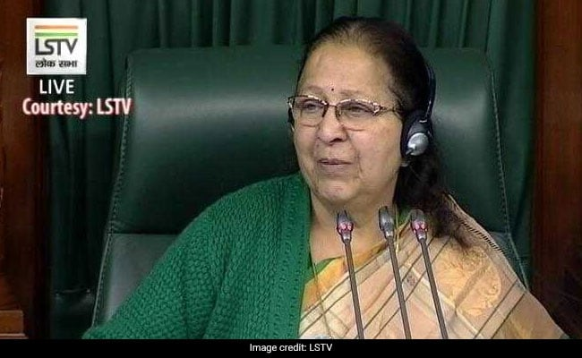 Lok Sabha Passed 205 Bills In Five Years: Sumitra Mahajan