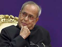 "Amid Opposition Uproar, Pranab Mukherjee Praises ""Perfect"" Elections"