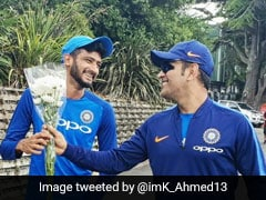 """Nobody Like Him"": Khaleel Ahmed And MS Dhoni"