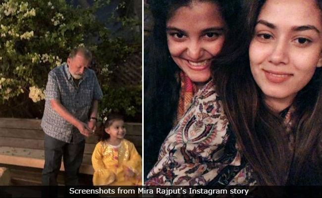 Mira Rajput Shares Pics From Lohri Celebrations With Misha, Sanah (Shahid Kapoor MIA)